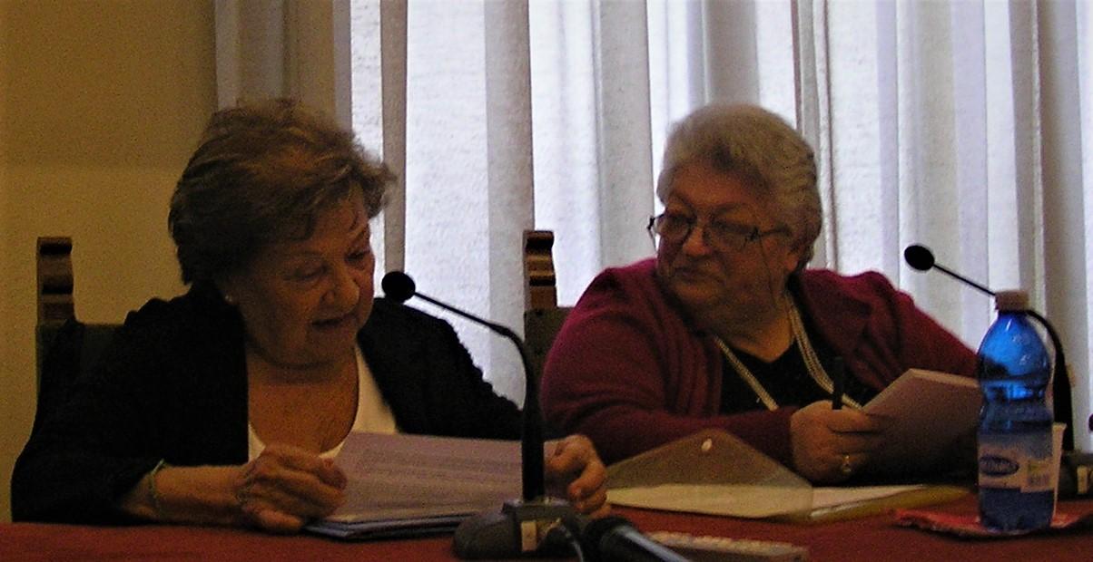 Giannina Gaspari e Pinella