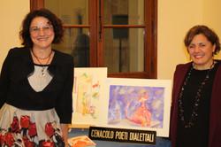 Denise Mingardi e prof.ssa Eleonora Pucci