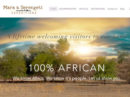 A new... simpler... website that will make it easier for you to discover the real Africa.