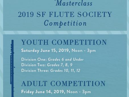 1st Prize San Francisco Flute Festival Competition