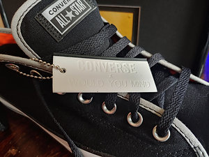 Chris Canas Would You Mind Converse LIMITED EDITION