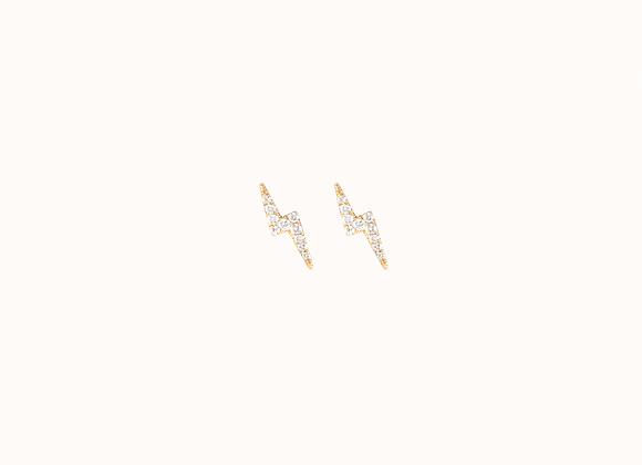 """Boucles d'oreilles """"Eclair"""""""