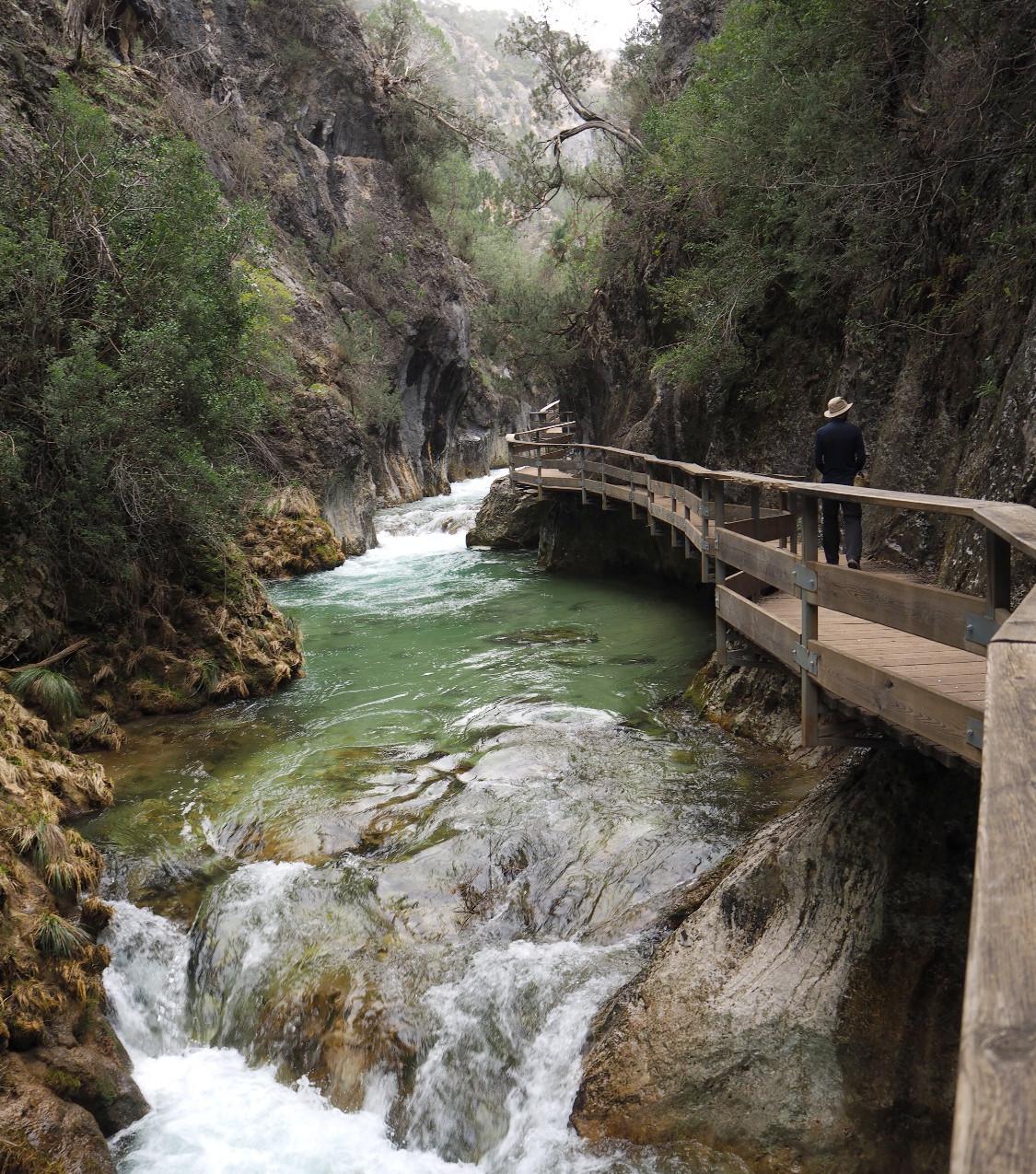 Spanien, Andalusien, Rio Borosa