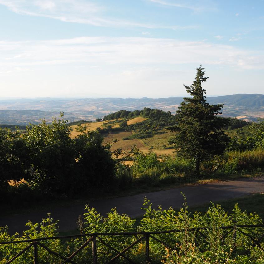 Radicofani, Toskana, Italien