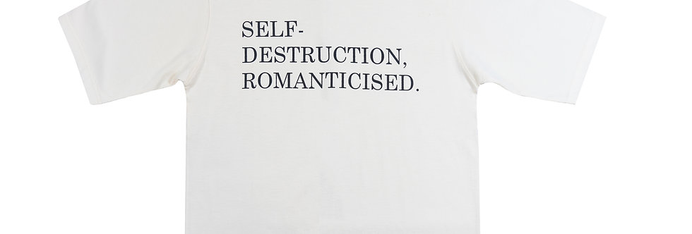 SELF DESTRUCT TEE
