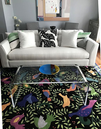 multi color carpet table