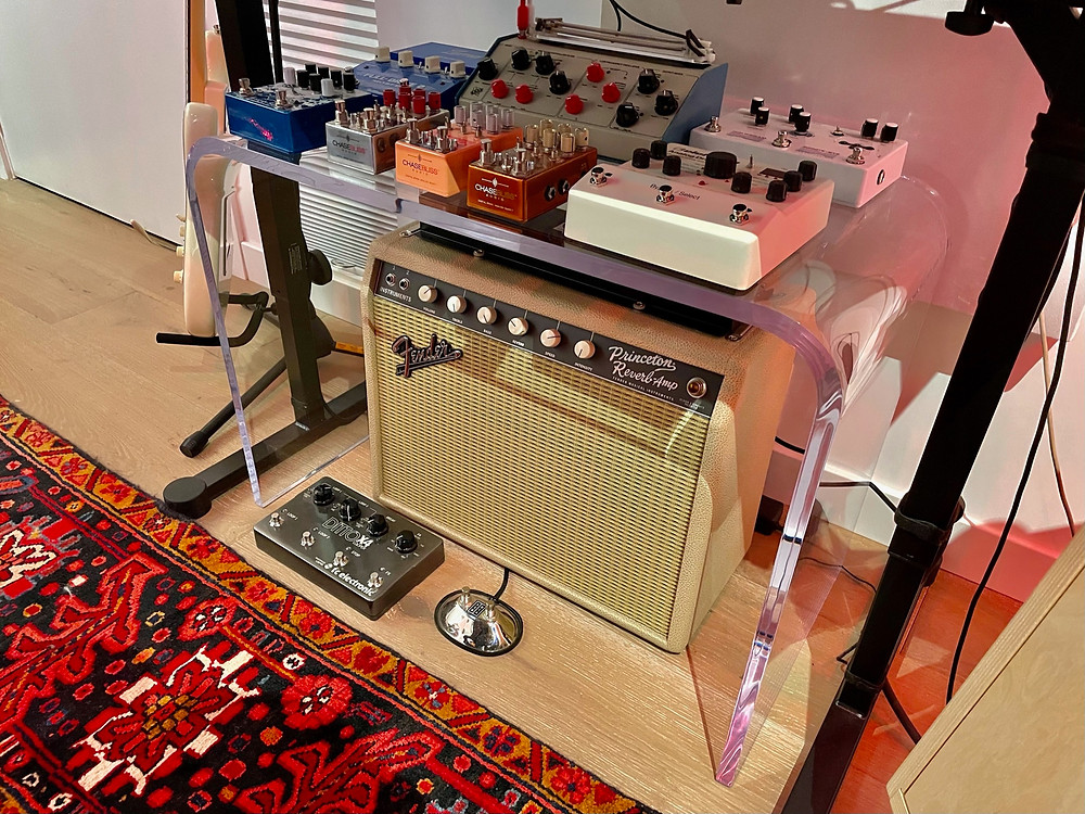 mix of personal guitar electronic switches