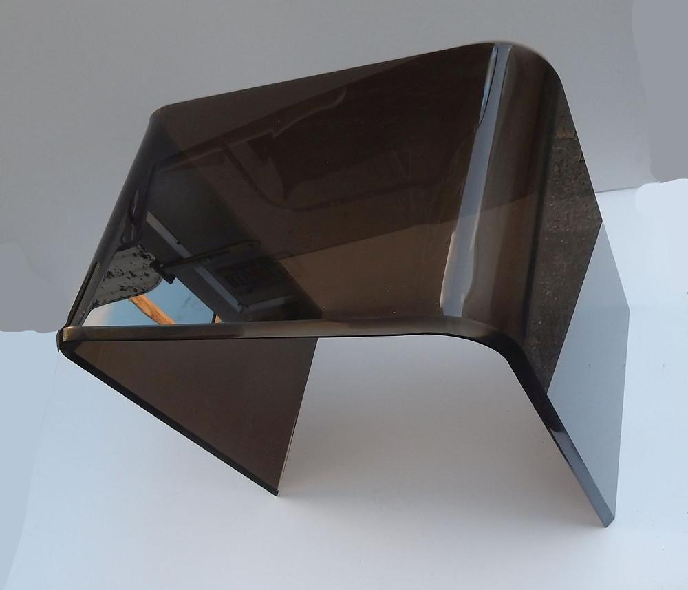 bronze smoke acrylic table