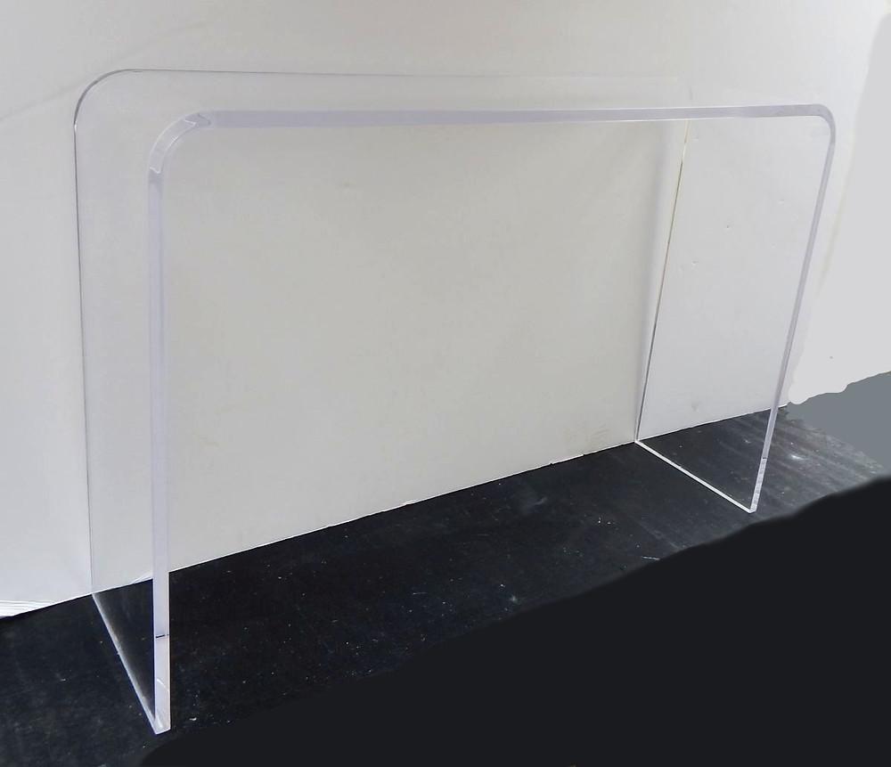 42x12x29 high acrylic console