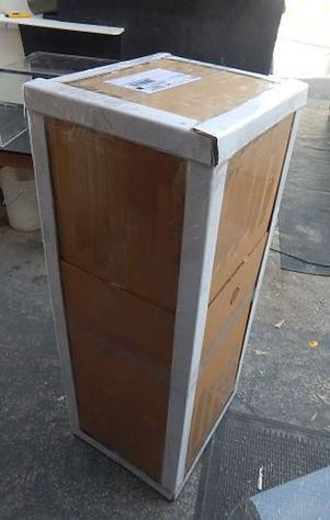 boxed acrylic table