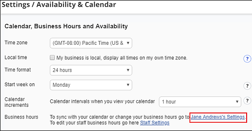CalendarBHAndAvailability-MyScheduleLink