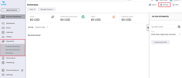 Settings-Payments stimates.PNG