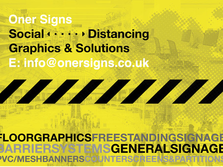 Social Distancing Signs, Graphics & Solutions