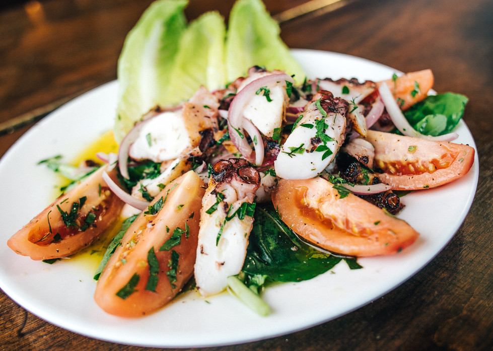 Our Famous Grilled Octopus
