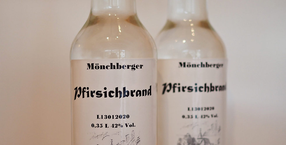 Mönchberger Pfirsichbrand 0,35l