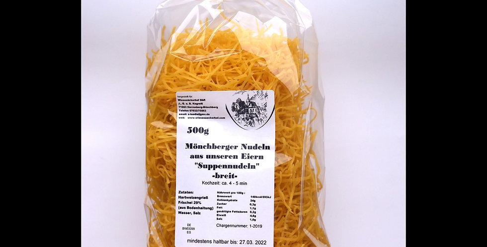 Suppennudeln breit 500 g
