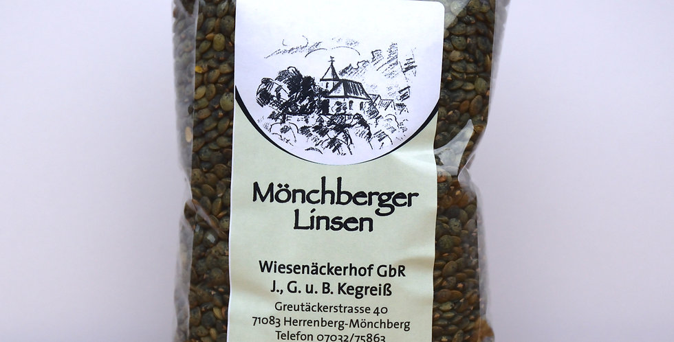 Mönchberger Linsen 500g
