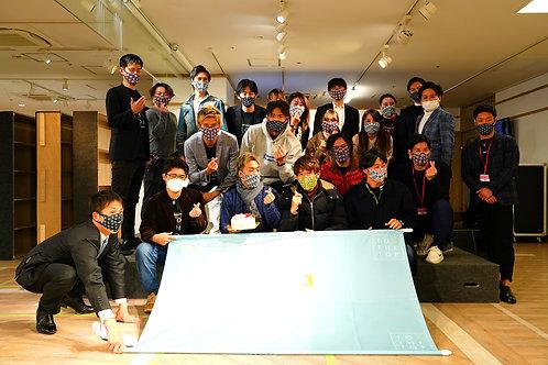 抗ウィルス生地の高機能スポーツマスク