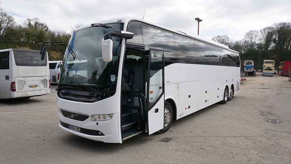 2015 Volvo 9700 57 Seats