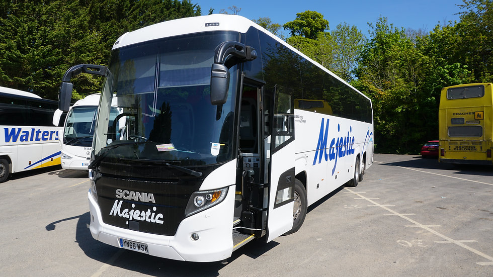 2017 Scania Touring 57 Seats