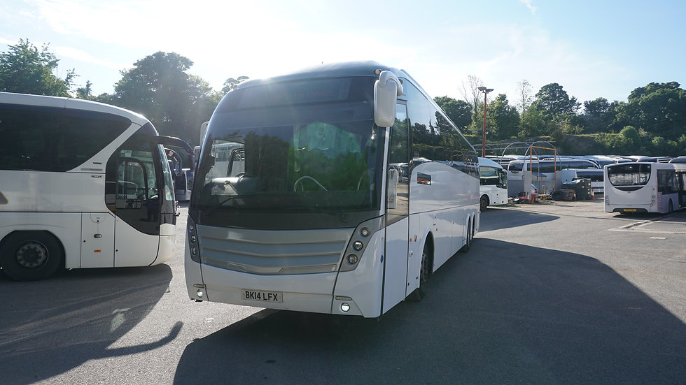 2014 Scania Levante PSVAR Compliant 57 Seats