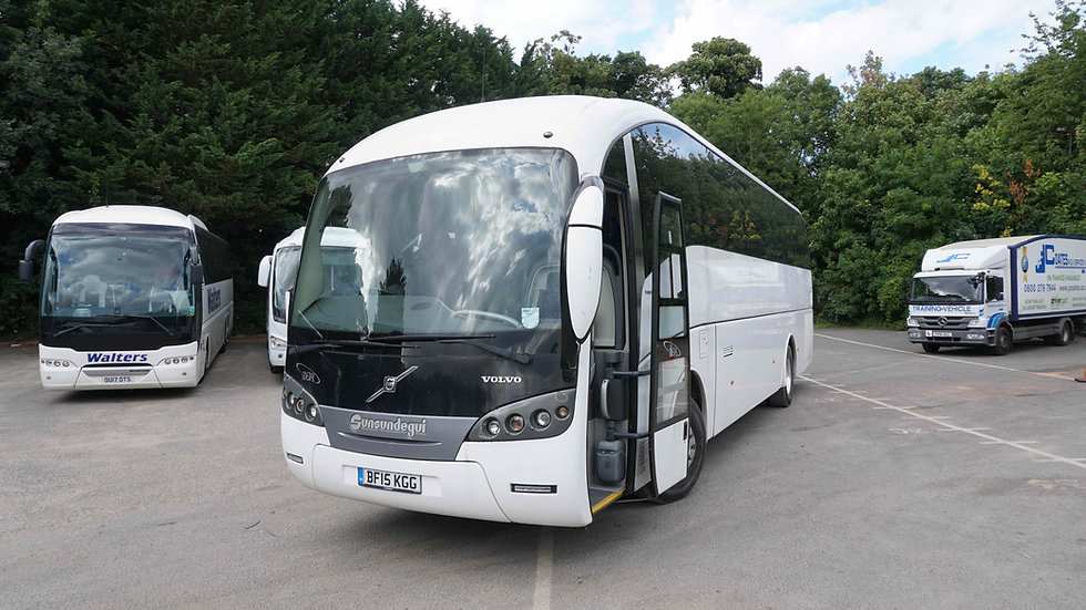 2015 Volvo Sunsundegui 49 Seats