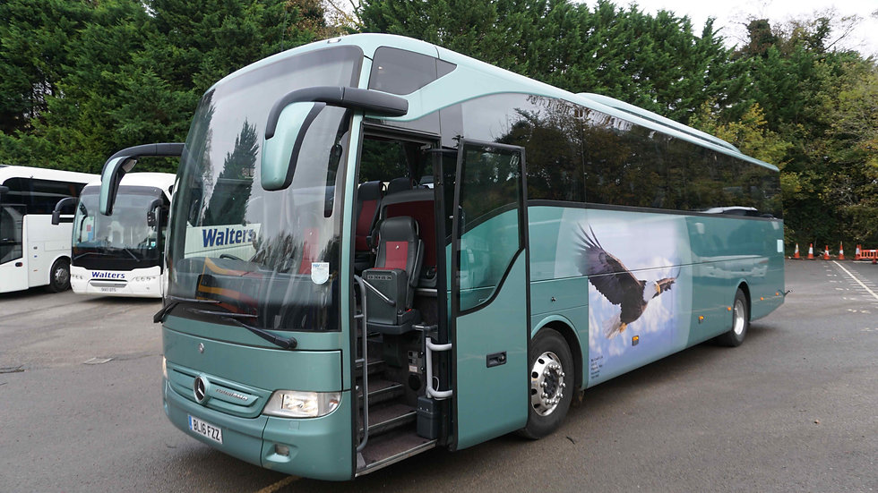 2016 Mercedes Tourismo 49 Seats