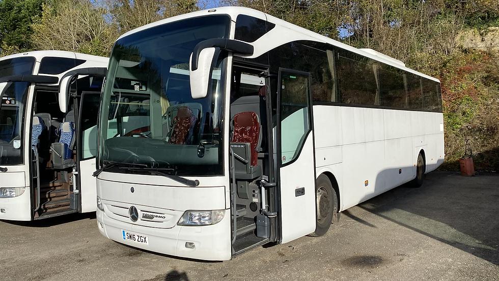 2016 Mercedes Tourismo 55 Seats