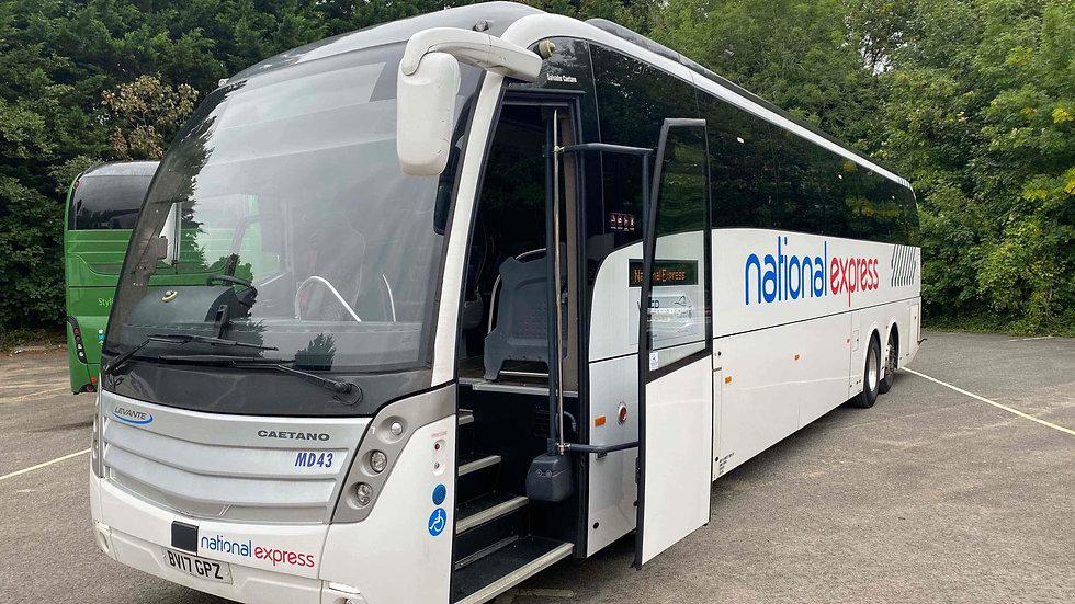 2017 Scania Levantes PSVAR 56 Seats