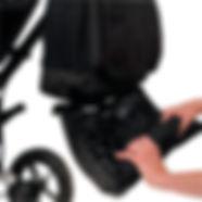 bolso paseo bebé Andone cesta compra regalos mamás papás complemento puericultura carritos y sillitas plegable lavable
