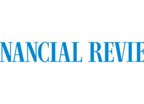 Live in The Australian Financial Review - Our next instalment