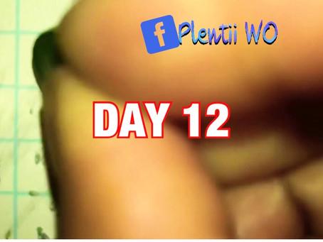 DAYS 12-19 MINDFULNESS