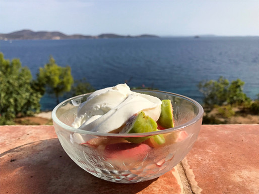 Figs, Fava & Feta with Everything