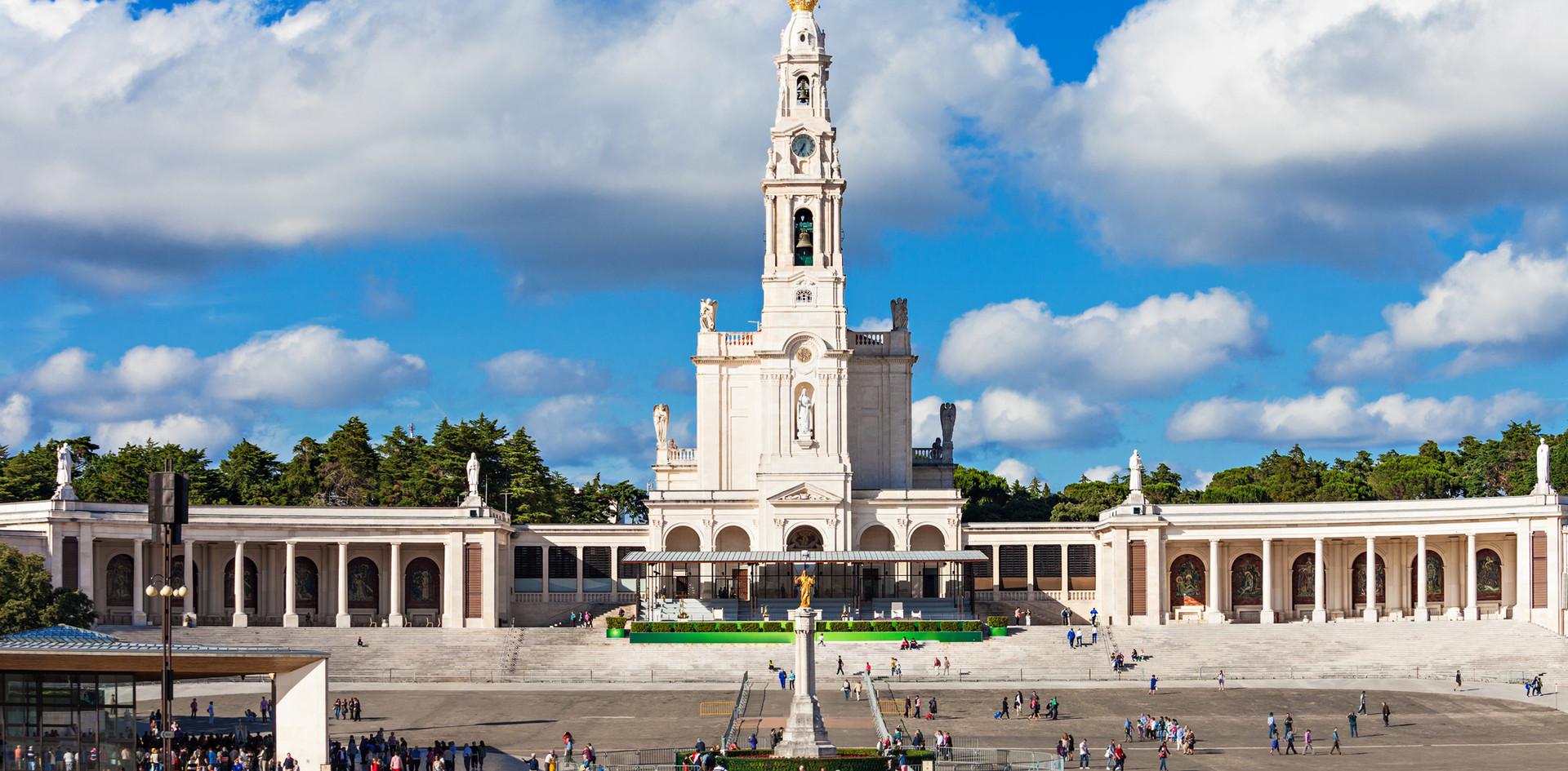 Fatima The Sanctuary of Fatima, which is