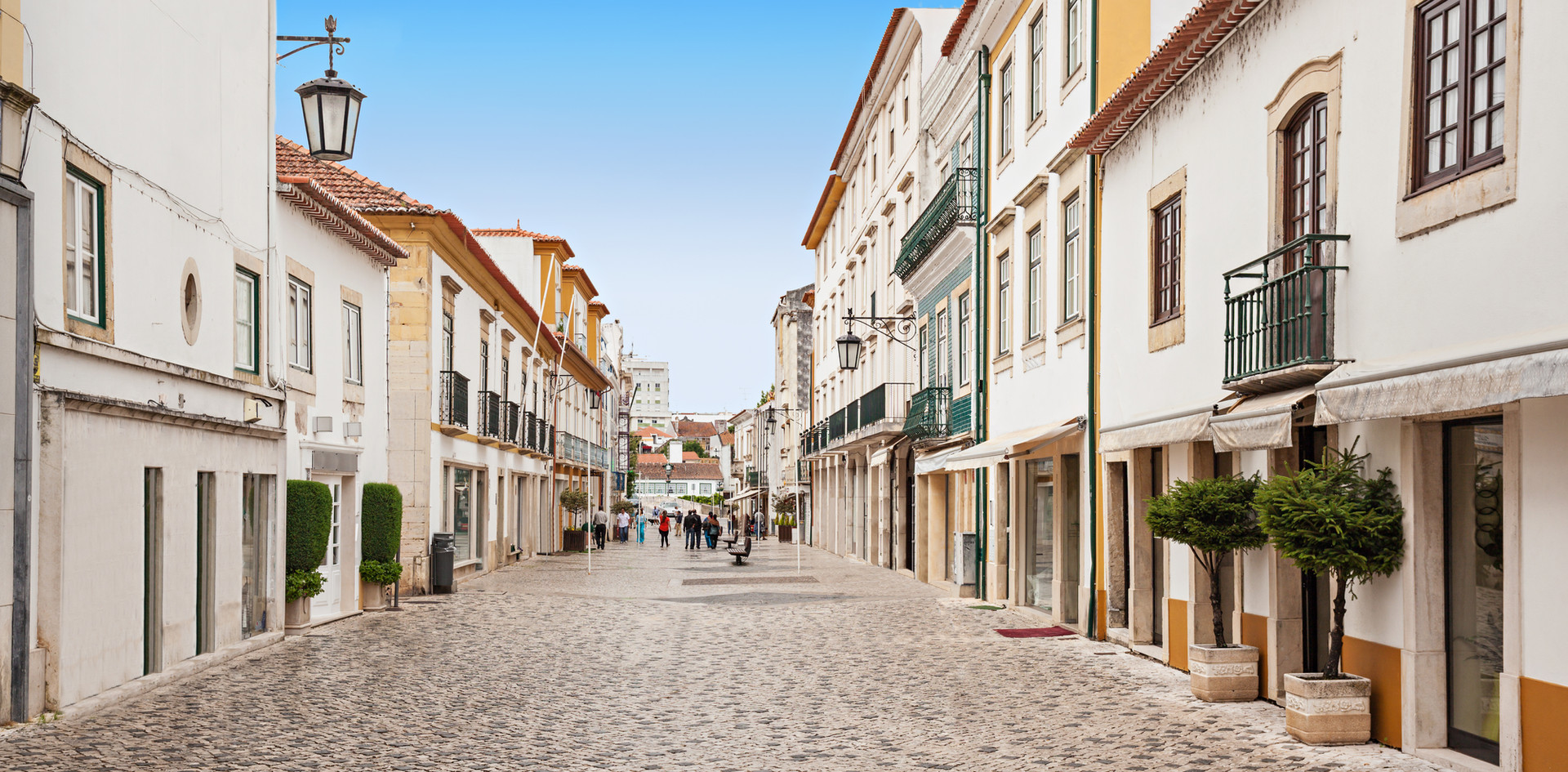 Tomar city center, Santarem District in