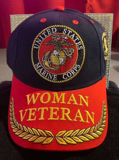 U.S.M.C. Woman Retired