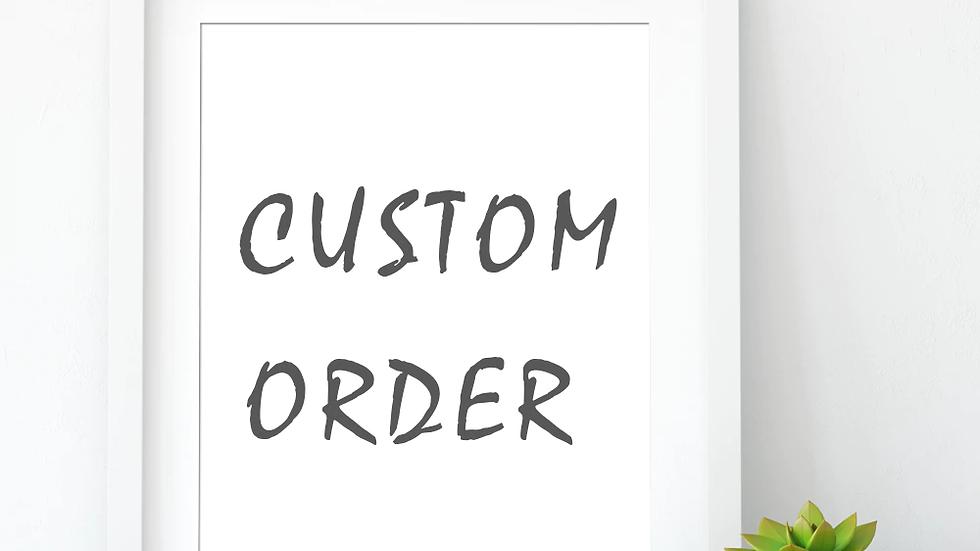 Custom Art -Large Size