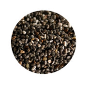 Chia seeds are high in Omega 3s, high in fiber,high in protein