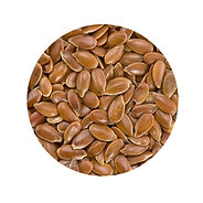 Flax seeds are high in Omega 3s and can hep lower blood pressure