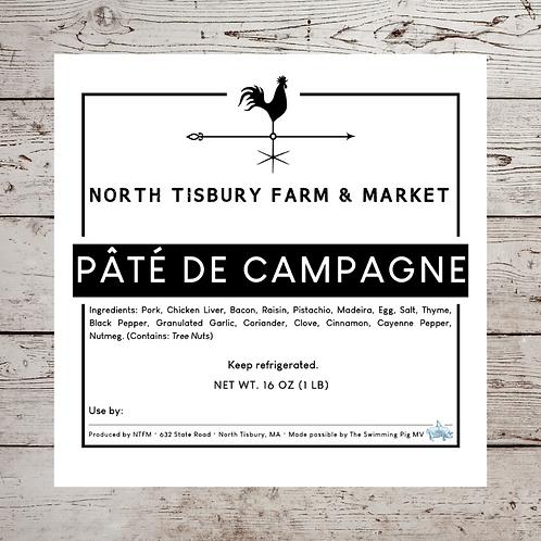 North Tisbury Farm Pate de Campagne