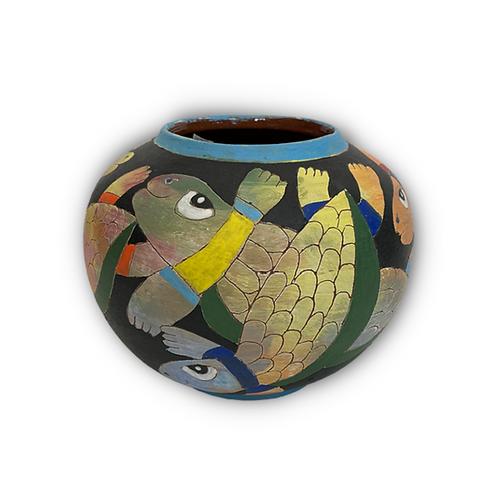 Happy Turtles Vase