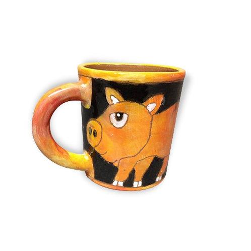Farm Animal Series: Pig Cup