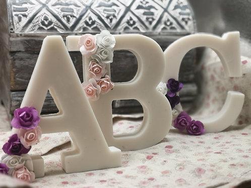 Jabón letras