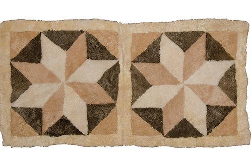 Sheepskin side-carpet