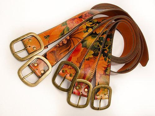 Cinturón Dama Floreado. CIN 17