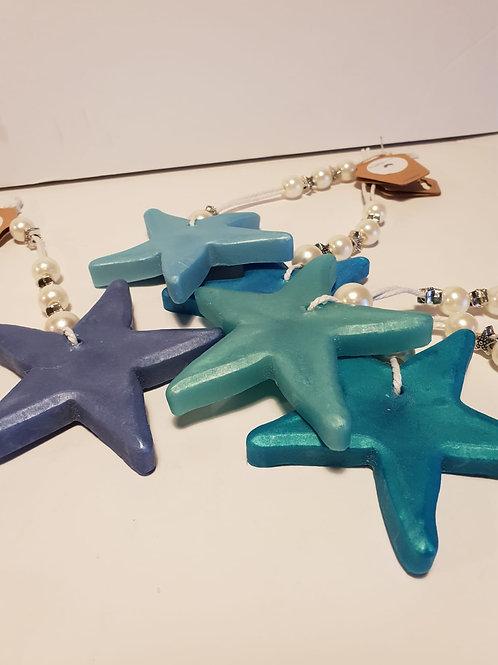 Colgador jabón estrella de mar