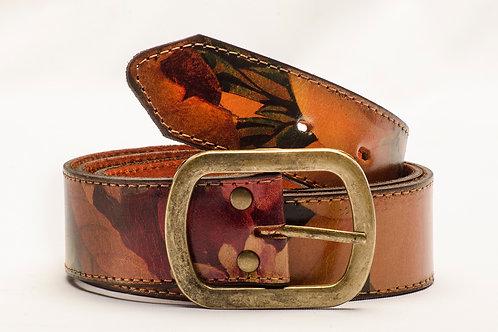 Women's floral belt. CIN 17.