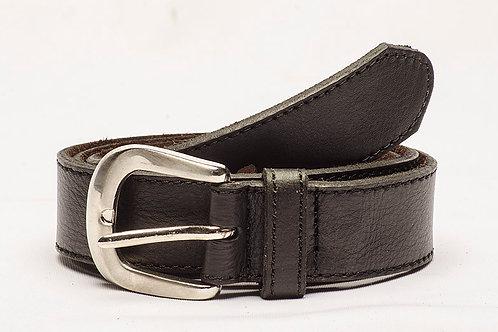 Cinturón Liso Negro. CIN 33