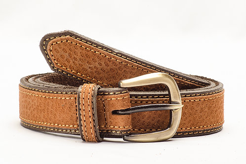 Leather Dress belt, combined. CIN 11