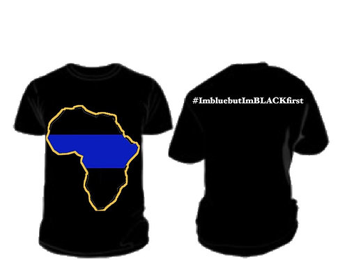 #BlueButBlackFirst T-Shirt